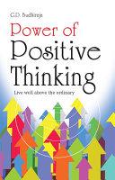 Power of Positive Thinking Pdf/ePub eBook