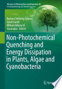 Non Photochemical Quenching and Energy Dissipation in Plants  Algae and Cyanobacteria