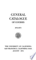 UCSF General Catalog
