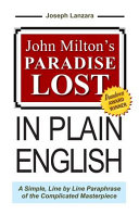 John Milton's Paradise Lost, in Plain English: A Simple, ...