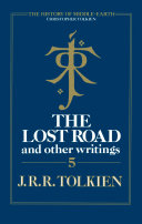 The Lost Road and Other Writings (The History of Middle-earth, Book 5) Pdf/ePub eBook