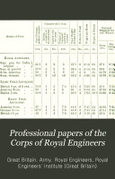 Pdf Professional Papers by the Corps of Royal Engineers ... Royal Engineers Institute