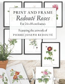 Print and Frame Redout   Roses  for 24 X 18cm Frames