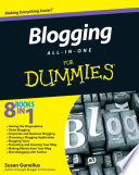 """Blogging All-in-One For Dummies®"" by Susan Gunelius"