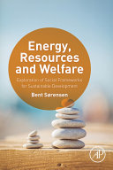 Energy  Resources and Welfare