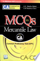 Mcqs In Mercantile Law(For Ca Commn.)