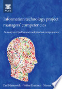 Information technology project managers' competencies: An analysis of performance and personal competencies