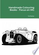Handmade Colouring Books - Focus on MG