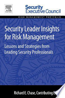 Security Leader Insights for Risk Management Book