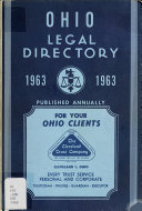 The Ohio Legal Directory Book