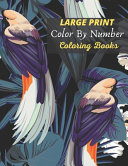Large Print Color By Number Coloring Books