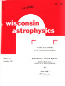 Wisconsin Astrophysics