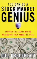 You Can Be a Stock Market Genius Pdf/ePub eBook