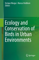 Ecology and Conservation of Birds in Urban Environments [Pdf/ePub] eBook