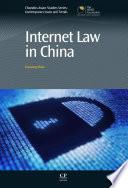 Internet Law In China Book PDF
