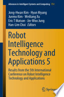 Robot Intelligence Technology And Applications 5 Book PDF