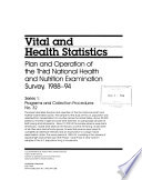 Plan and Operation of the Third National Health and Nutrition Examination Survey, 1988-94