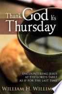 Thank God Its Thursday Book