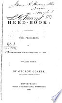 Herd Book Containing The Pedigree Of Improved Short Horned Cows