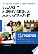 """""""Security Supervision and Management: The Theory and Practice of Asset Protection"""" by IFPO, Sandi J. Davies"""