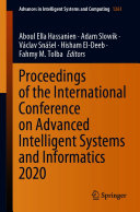 Proceedings of the International Conference on Advanced Intelligent Systems and Informatics 2020