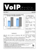 VoIP Monthly Newsletter July 2010