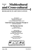 Journal of Multi cultural and Cross cultural Research in Art Education