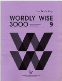 Wordly Wise 3000 Book