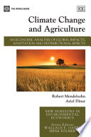 Climate Change And Agriculture Book PDF