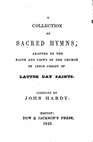 Sacred Hymns (Hardy) (1843)