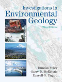 Investigations in Environmental Geology Book