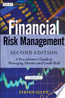 Cover of Financial Risk Management