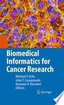 Biomedical Informatics for Cancer Research Book