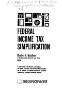 Federal Income Tax Simplification