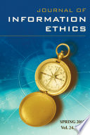 Journal of Information Ethics  Vol  24  No  1  Spring 2015  Book