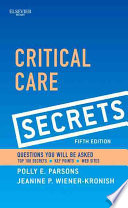 Critical Care Secrets5 Book