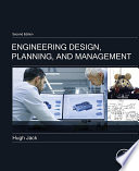 Engineering Design  Planning  and Management