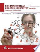 Pharmaceutical Organic Chemistry Sem- I & II