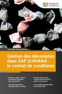 Pdf Gestion des décomptes dans SAP S/4HANA : le contrat de conditions Telecharger