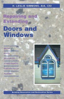 Repairing and Extending Doors and Windows
