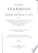 Annual Year Book United States Trotting Association