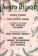 Black World Negro Digest