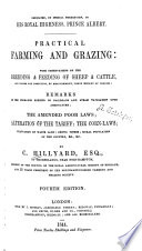 Practical Farming and Grazing  with Observations on the Breeding   Feeding of Sheep   Cattle
