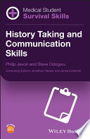 Image of book cover for History taking and communication skills