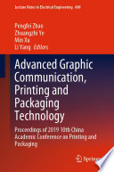 Advanced Graphic Communication, Printing and Packaging Technology