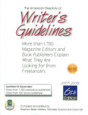American Directory of Writer s Guidelines