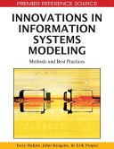 Innovations in Information Systems Modeling  Methods and Best Practices