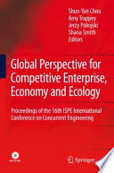 Global Perspective For Competitive Enterprise Economy And Ecology Book PDF