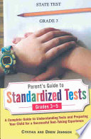 Parent S Guide To Standardized Tests For Grades 3 5
