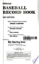 Baseball Record Book, 1983